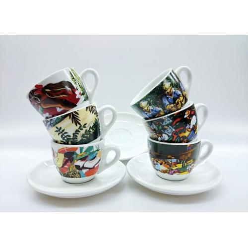 Cappuccino Collezione Origin 165 ml 6 set šálek+podšálek