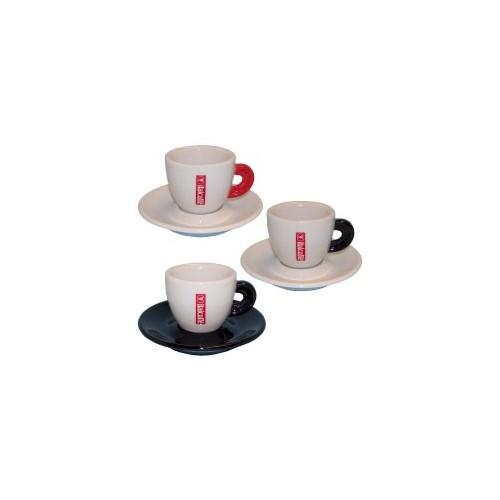 Espresso Italcaffé SET 6 ks šálek+podšálek
