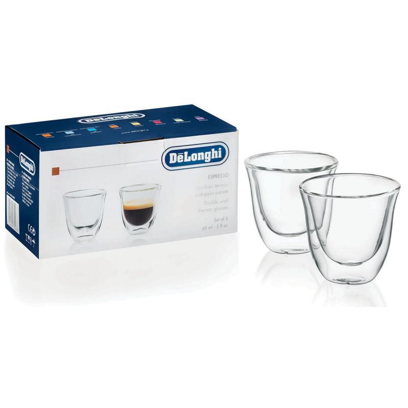 Skleničky DeLonghi espresso 2ks