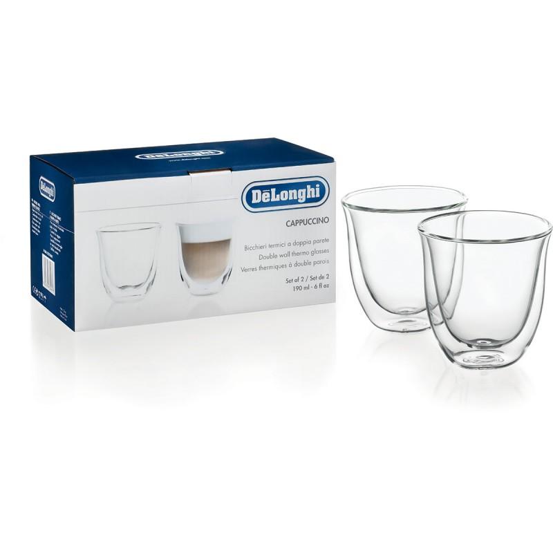 Skleničky DeLonghi cappuccino 2ks