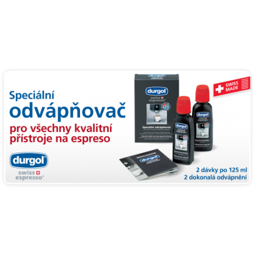 Odvápňovač durgol® swiss espresso®