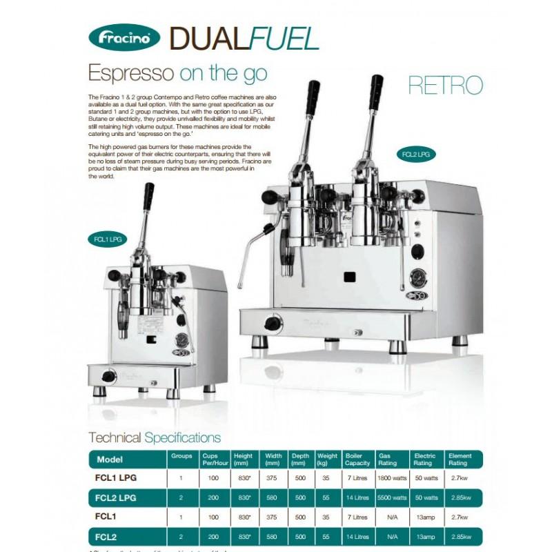 Kávovar Retro-lever Fracino