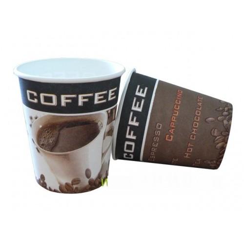 Kelímek Cofee To Go 200/250 ml 8oz 50 kusů