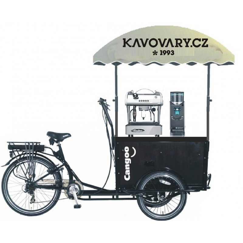 Cargo coffee bike - mobilní kavárna