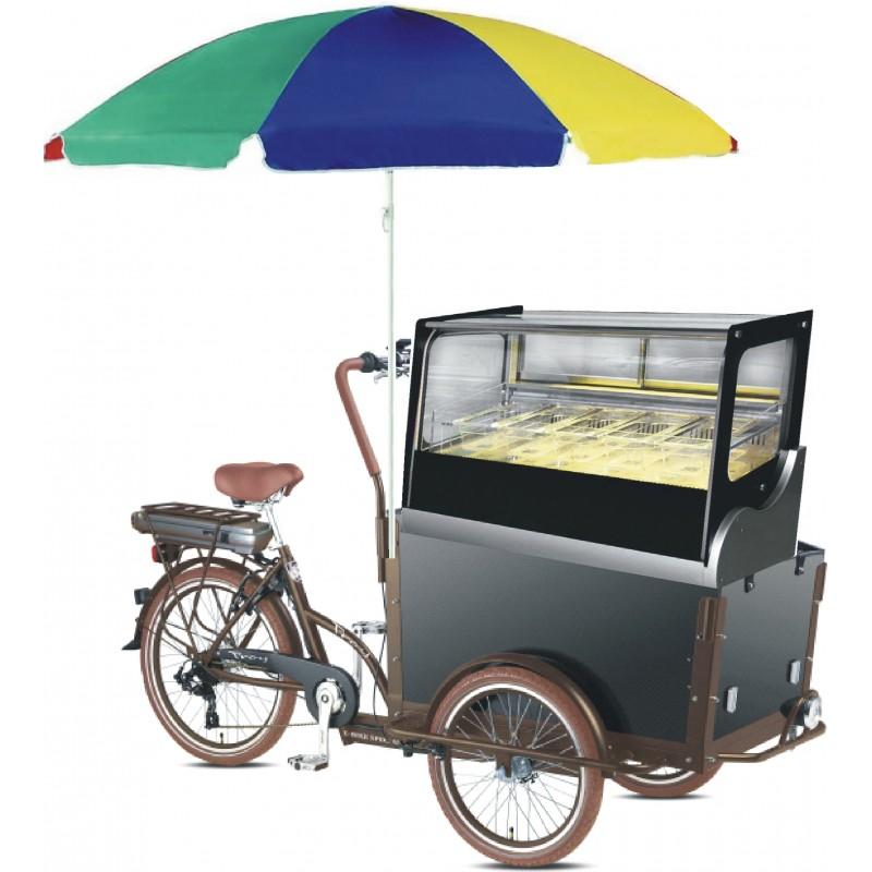Cargo Ice bike - pojizdná zmrzlina