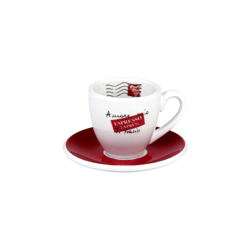 Espresso šálek s podšálkem Amore Mio