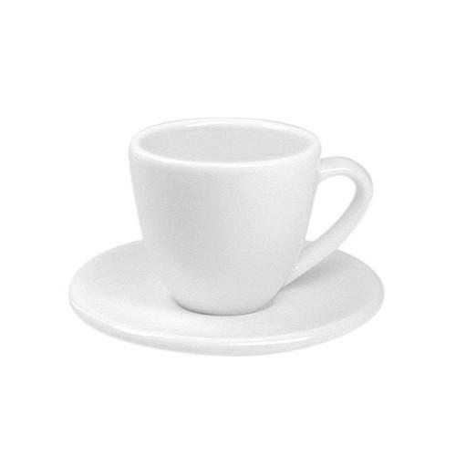 Espresso šálek s podšálkem bílá