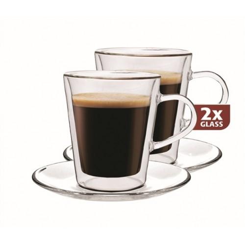 Skleničky Maxxo doppio