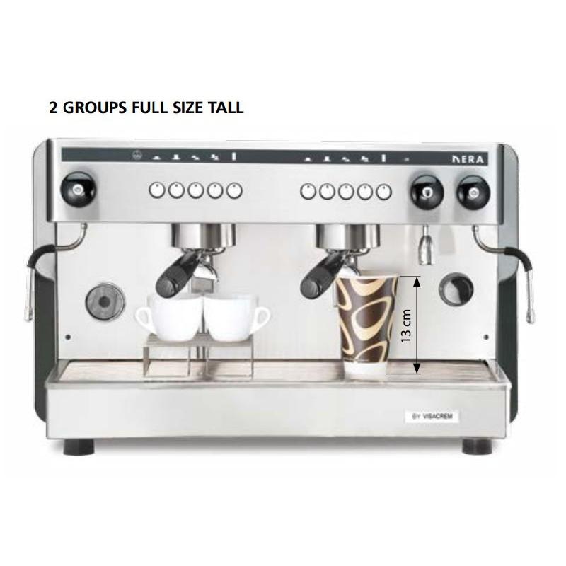 Profesionální kávovar RIMINI elektronica 2skupinový