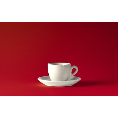 Espresso šálek ROSA bianco 60 ml klasická tloušťka