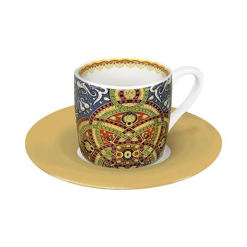 Espresso šálek s podšálkem Al Hambra modrý na kávu