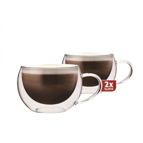 Skleničky Maxxo cappuccino cappucino