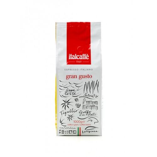 Zrnková káva Gran Gusto 1000g Italcaffé