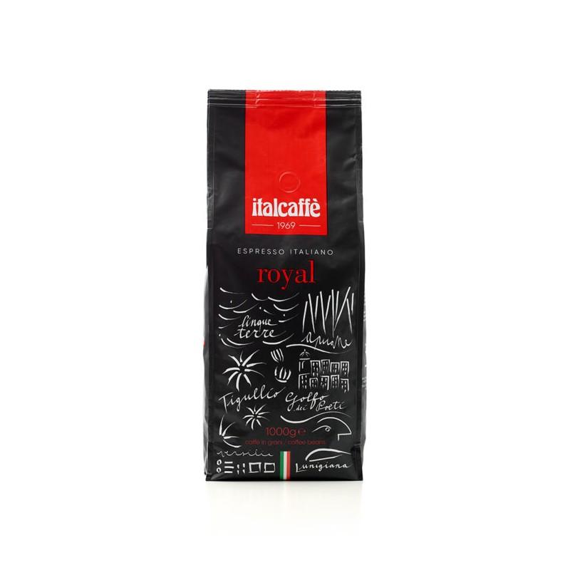 Káva Italcaffé Royal bar zrnková 1000g