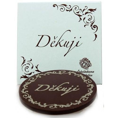 Čokoláda s přáním 18g ,děkuji, z lásky, štěstí