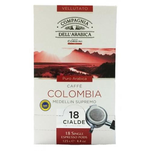 Káva Corsini Arabica Colombia Espresso pods