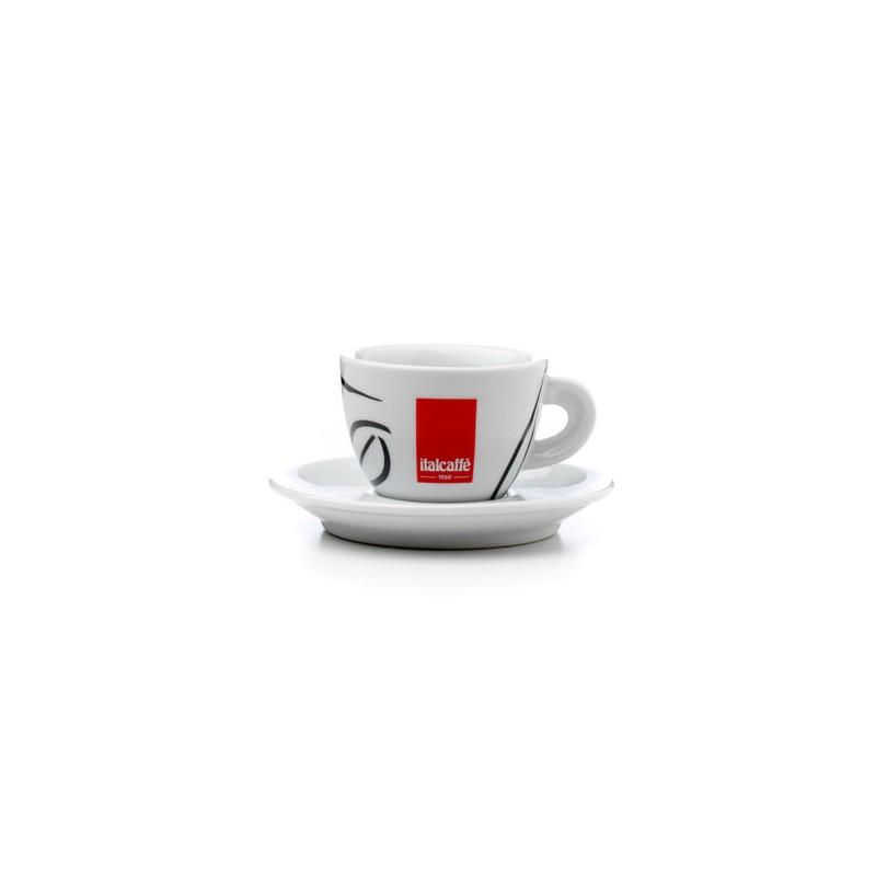 Cappuccino Italcaffé SET 6ks šálek+podšálek