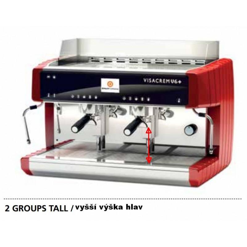 Kávovar V6 - patentovaný Grouptronic ® systém regulace teploty