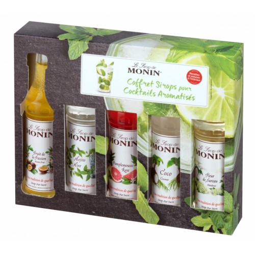 Monin Cocktail box MINI 5 x 50 ML
