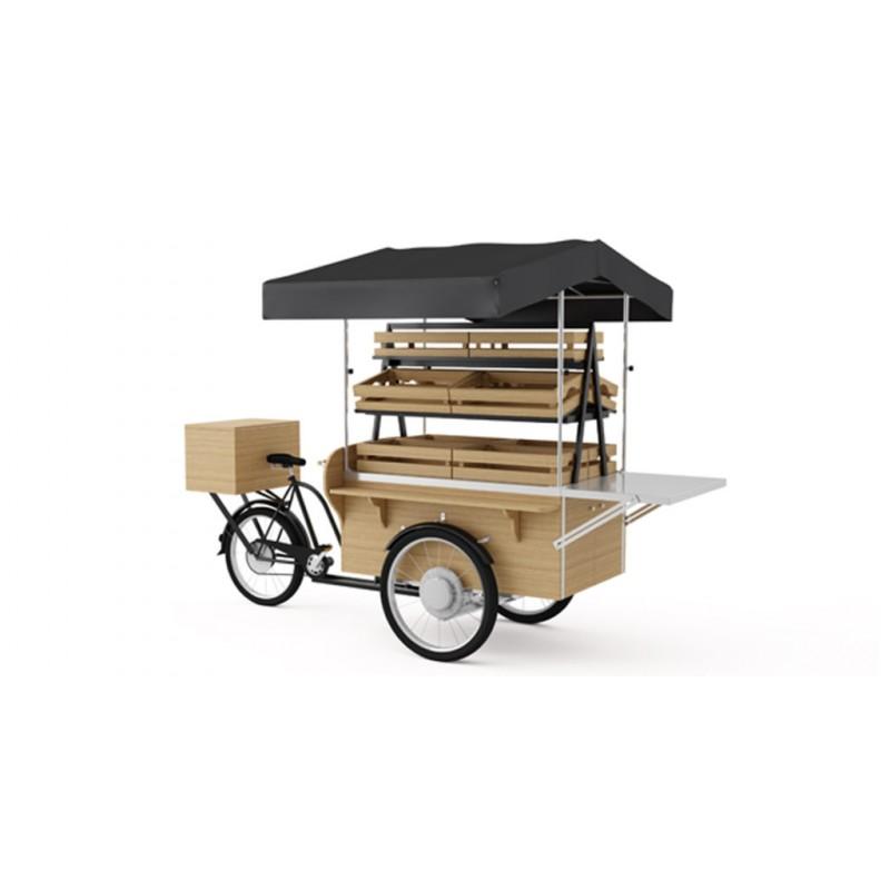 Cargo tříkolka - farmářský stánek