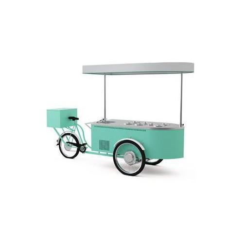 Zmrzlinový stánek - gelato
