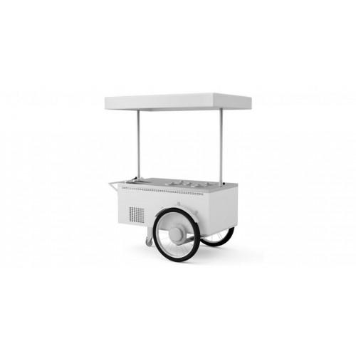 Zmrzlinový stánek rikša 5 pozzetti