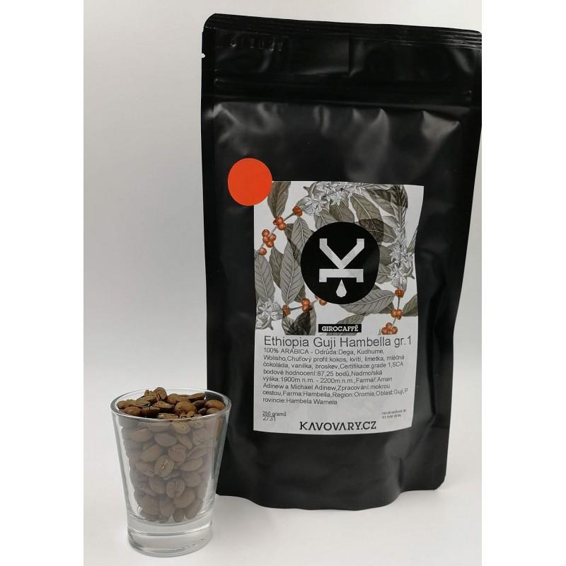 Káva GiroCaffé ETIOPIA