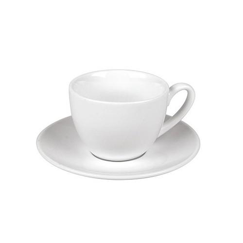 Šálek s podšálkem bílá Coffee