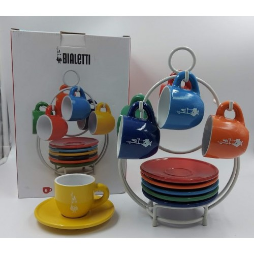 Bialetti Set 6 šálků Super Joy