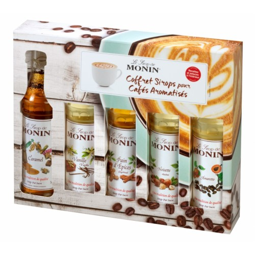 Monin Coffee box MINI 5 x 50 ML