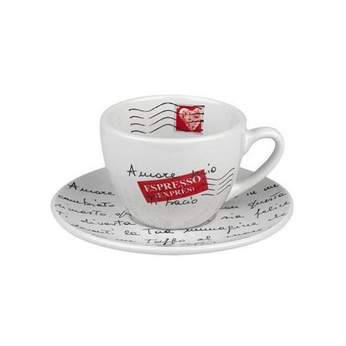 Coffee šálek s podšálkem Amore Mio