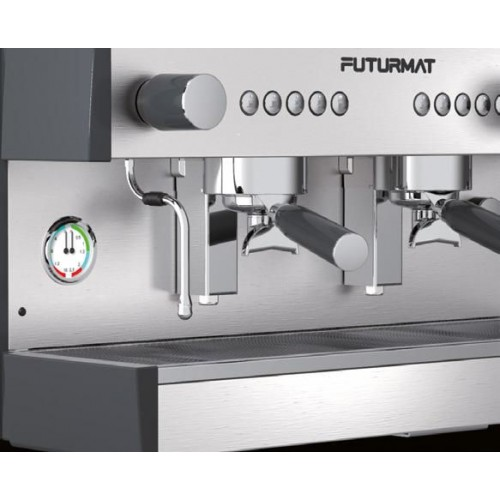 Profesionální kávovar RIMINI SOUL elektronica 2skupinový