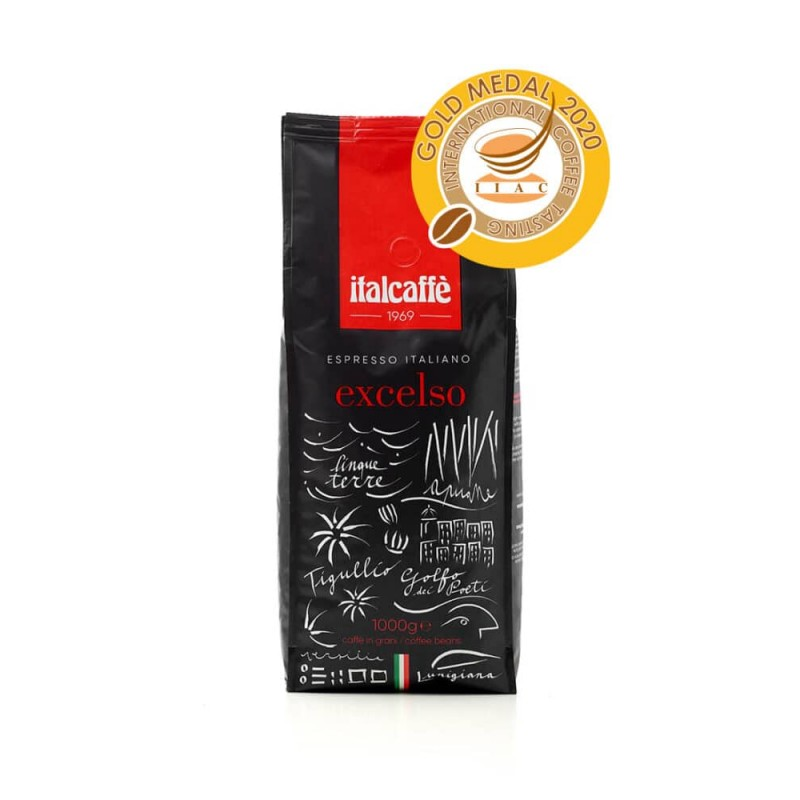 Káva Italcaffé Excelso zrnková 1000g