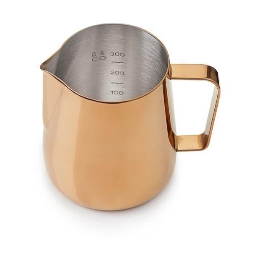 Core džbánek na mléko 420 ml růžová mosaz