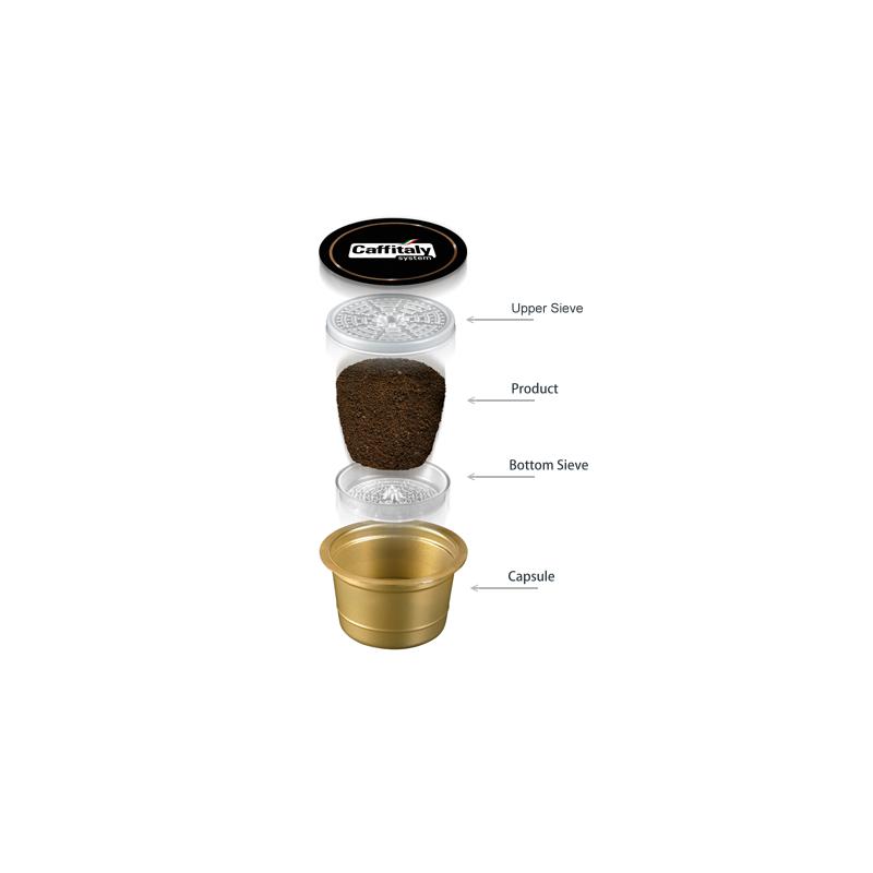 Káva kapsle Caffitaly Ecaffé INTENSO 10 kusů