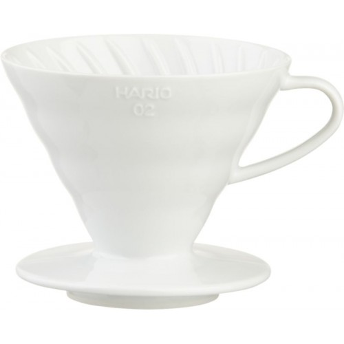 Ceramic coffee dripper Hario 1-2 šálky V60