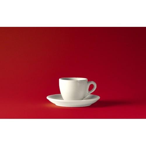 Espresso šálek ROSA bianco 60 ml silnostěnný