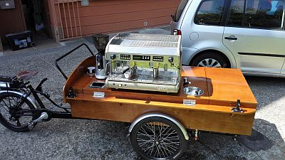 Mobilní kafé kolo