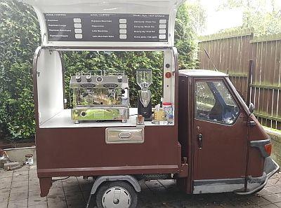 Piaggio APE coffe to go