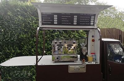 APE 50 valník espresso